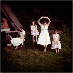 (jeremy-walker) Tags: uk wedding girls white green fairytale dress surreal dreamlike staged sosweet jeremywalker weddingphotography irishsisters 18railwaychildren ourjohnsagayman