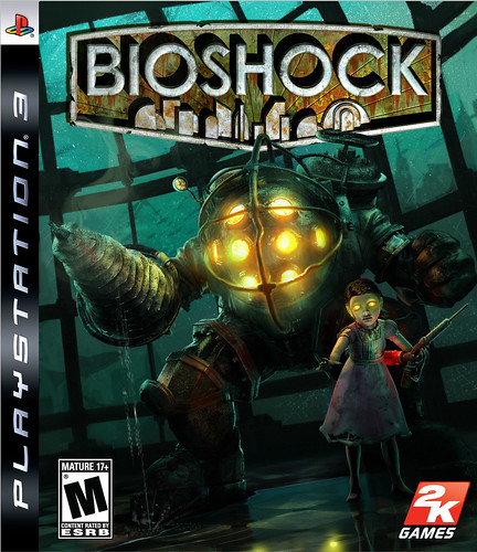 BIOSHOCK PS3 BOX ART