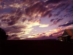 Scheune (kitty-tomcat) Tags: county sky sunrise wolken olympus clowds gmt scheune