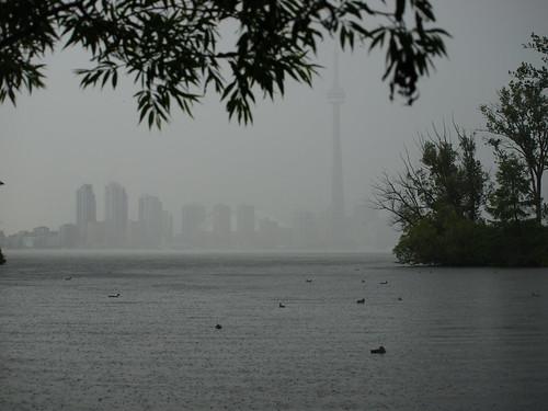 Toronto in the Mist