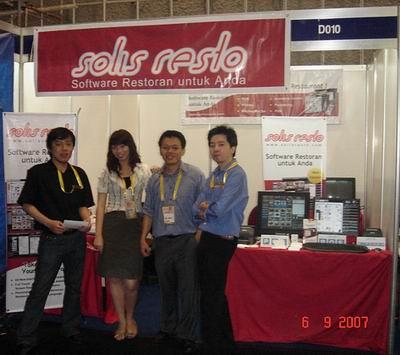 Stand Solis Resto di Interfood 2007