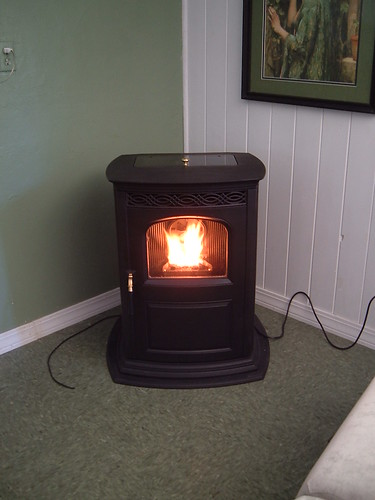 Harman Pellet stove...with customer review.