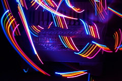 Accordion 1 (binaryCoco) Tags: lightpainting rainbow accordion led regenbogen synesthesia akkordeon synaesthesia leuchtdiode synästhesie