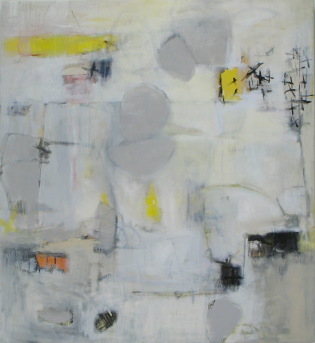 "Untitled IV, (2008), Acrylic on canvas, 44""x48"" by elizabeth schuppe."