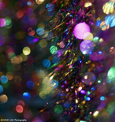 Shiny, sparkly, glittery...that's how I like da bokeh! (www.LKGPhoto.com) Tags: shiny colorful bokeh foil circles explore tablecloth sparkly glittery flamingogardens hbw explorewinnersoftheworld wwwlkgphotocom