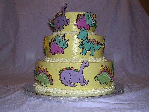 Amazing Dinosaur Birthday Cake