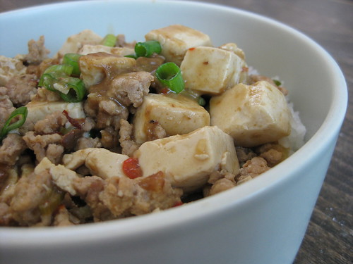 Mapo Tofu over Rice