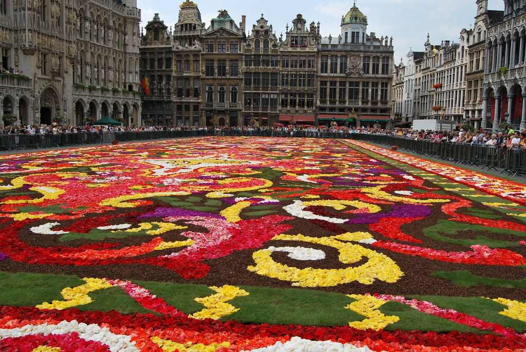 le tapis de fleurs the carpet of flowers ??? ??