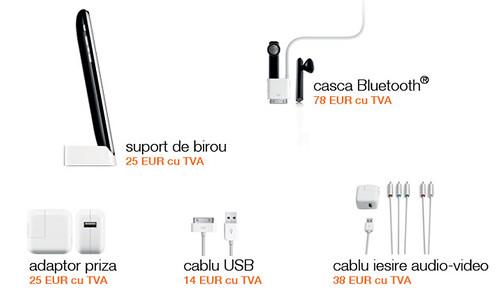 Accesorii iPhone 3G la Orange