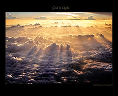 God is Light (Light and Life -Murali ) Tags: morning sky sun clouds sunrise god gift rays streaks godislight