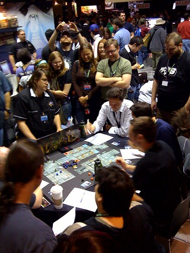 Wil Wheaton and the Penny Arcade guys play D+D at PAX 2008