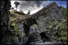 Bridge on the way up Rinjani