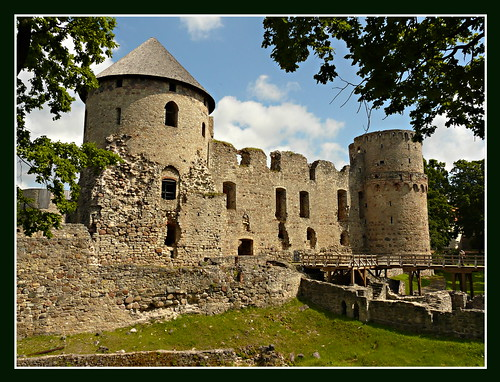 Cesis castle in Latvia