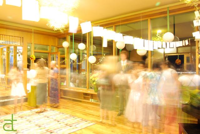 guests arrive