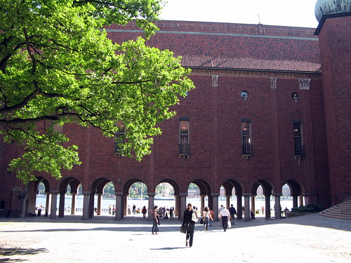 Stockholm City Hall - Enter