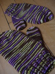The Bud's Muddy Viking Mittens