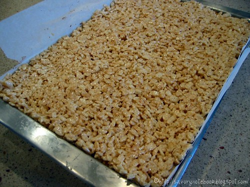 Triple Decker Krispie Treats