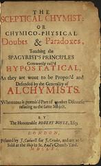 The Sceptical Chymist