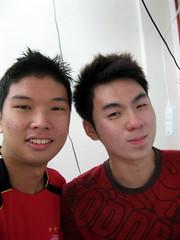 Me & Zhi Hua