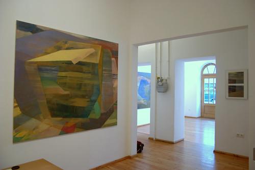 Ausstellung FLACHLAND  18. September 2008 bis 1. November 2008, Galerie Heufelder, Gabelsbergerstr 83, München