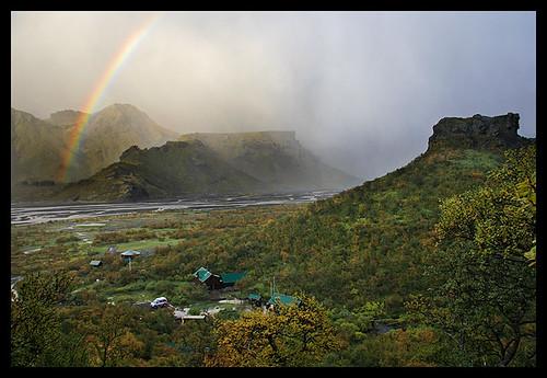 Fall in Þórmörk