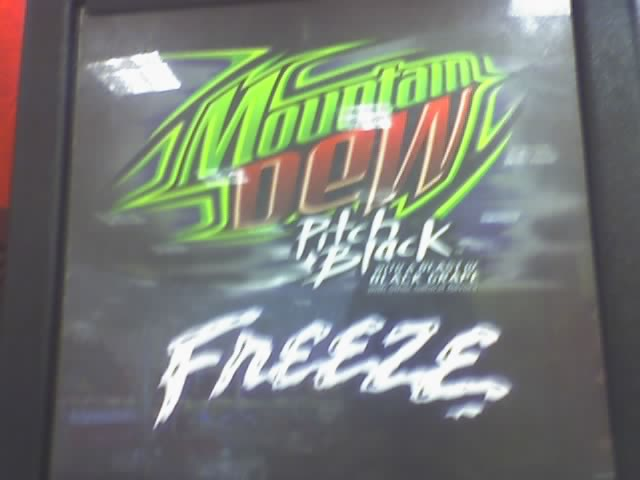 Mt Dew Pitch Black Freeze