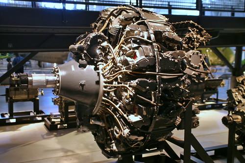 engine boeing b29 superfortress