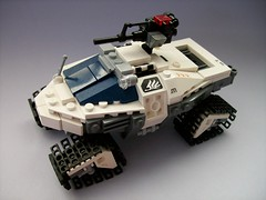 Snow_LRV (Lemon_Boy) Tags: winter snow war gun tank lego jeep military machine halo xbox videogame warthog foitsop