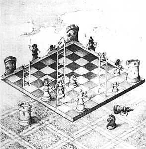 inverted chessboard