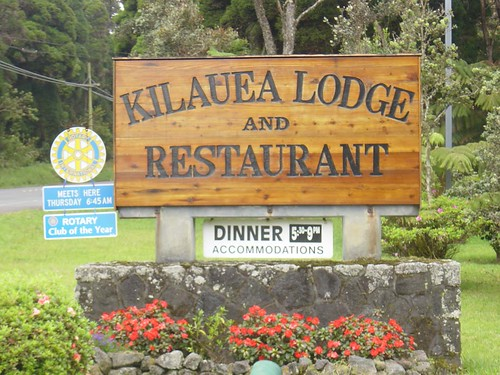 Kilauea Lodge and Restaurant