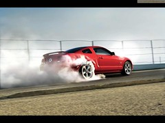 Ford Mustang 2009 (Syed Zaeem) Tags: wallpaper cars ford car mustang wallpapers 2009 getcarwallpapers