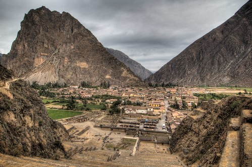 View from Ollantaytambo