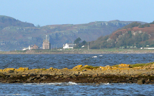 Portencross from afar