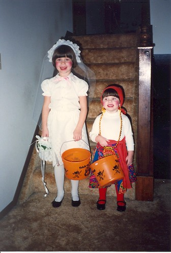 Halloween 1988 - A Bride and a Gypsy