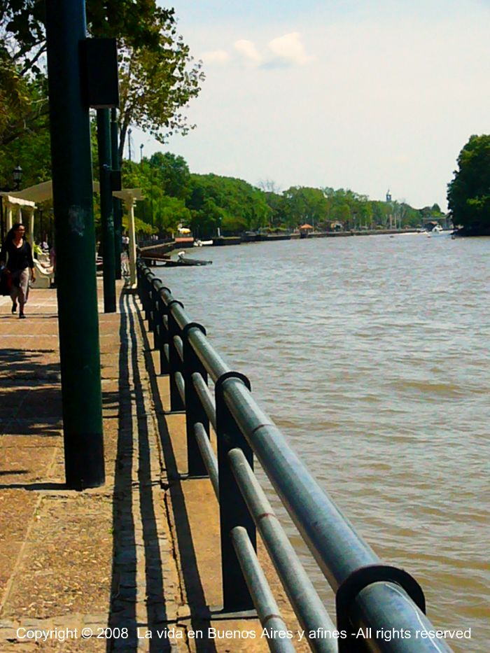 Walk by the riverside