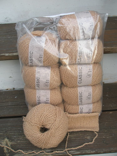 1 bag of Rowan RYC Soft Lux in Camel