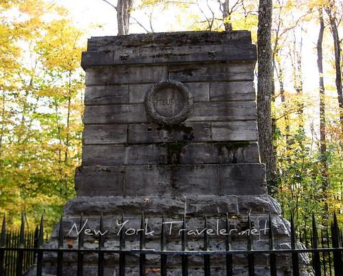 Steuben Burial Monument