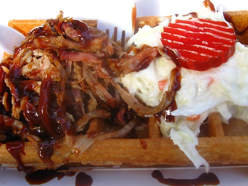 Pulled Pork Wafel