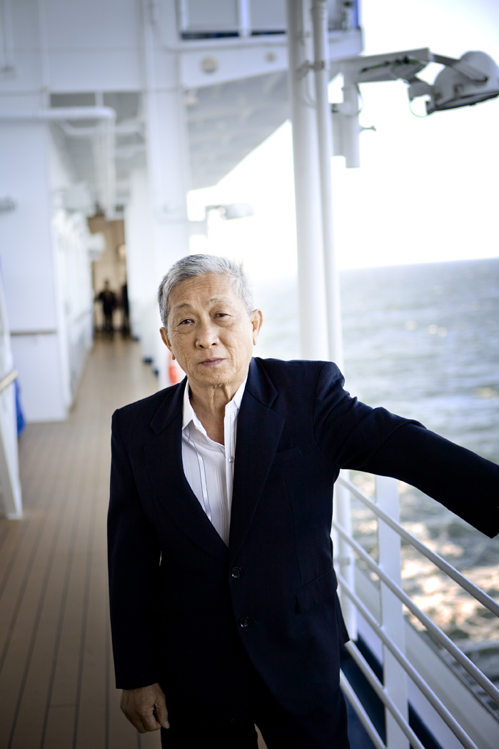 Portraits onboard Crown Princess Cruise Ship
