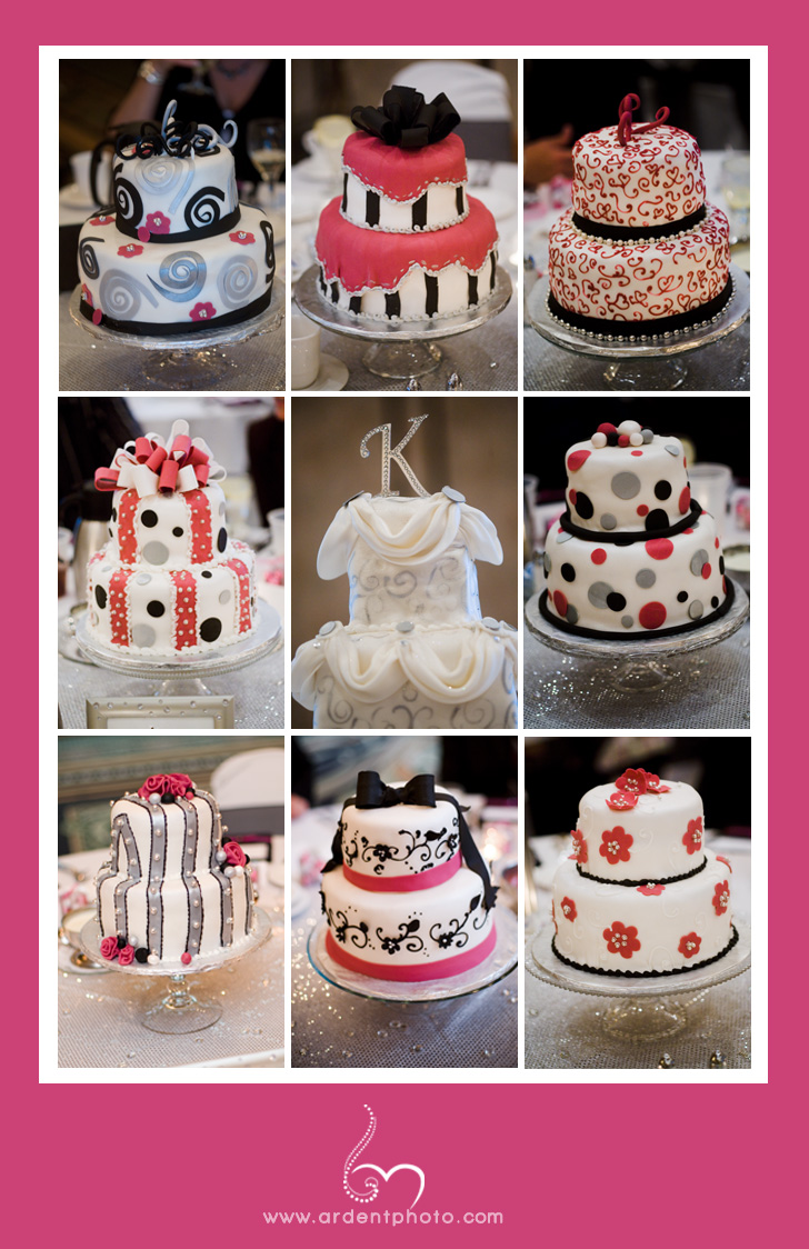 In the pink :: cakes