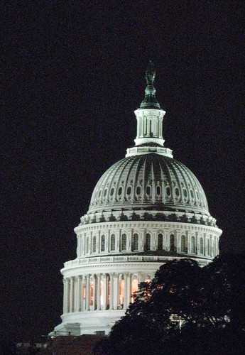 Capitol Dome at Night