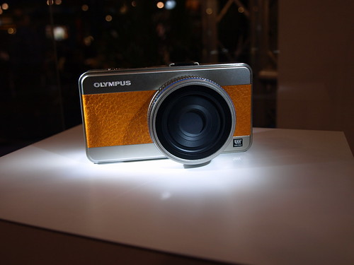Olympus's Micro 4/3rd's camera