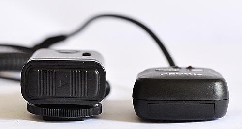 Receiver size comparison -- Phottix Cleon N8 vs N1