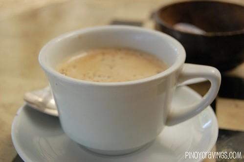 brewed coffee @ Mango-Ray Bar and Restaurant