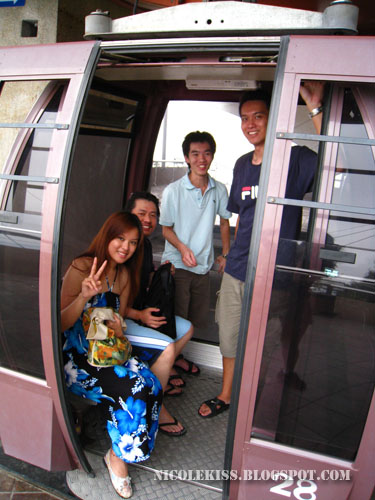 in cable car