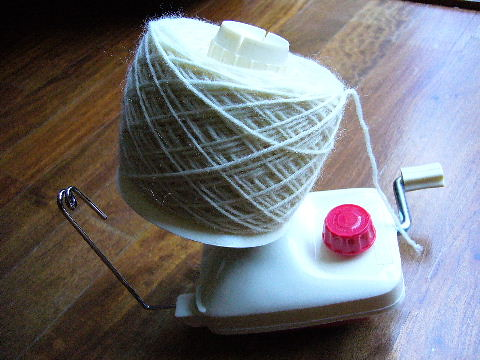newly wound yarn by you.