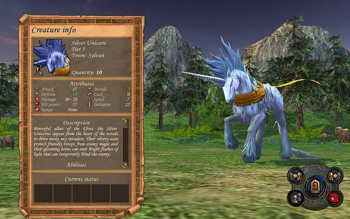 Sylvan Silver Unicorn