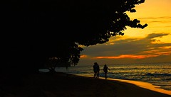 Grenada, Caribbean. (mmayson) Tags: winter sunset sea sky sun holiday color colour beach clouds sunrise bay sand nikon skies grenada caribbean 18200 hamlet 18200vr d80 megashot absolutelystunningscapes ilobsterit