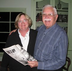 Kathy and Uncle Artie (Kathleen Tyler Conklin) Tags: november paris cute up tennessee ace wwii kathy gigs 2008 mechanic artie ktylerconk