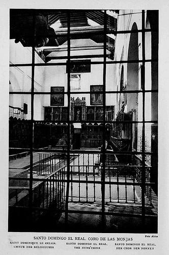 Convento de Santo Domingo el Real (Toledo) a principios del siglo XX. Foto Aldus